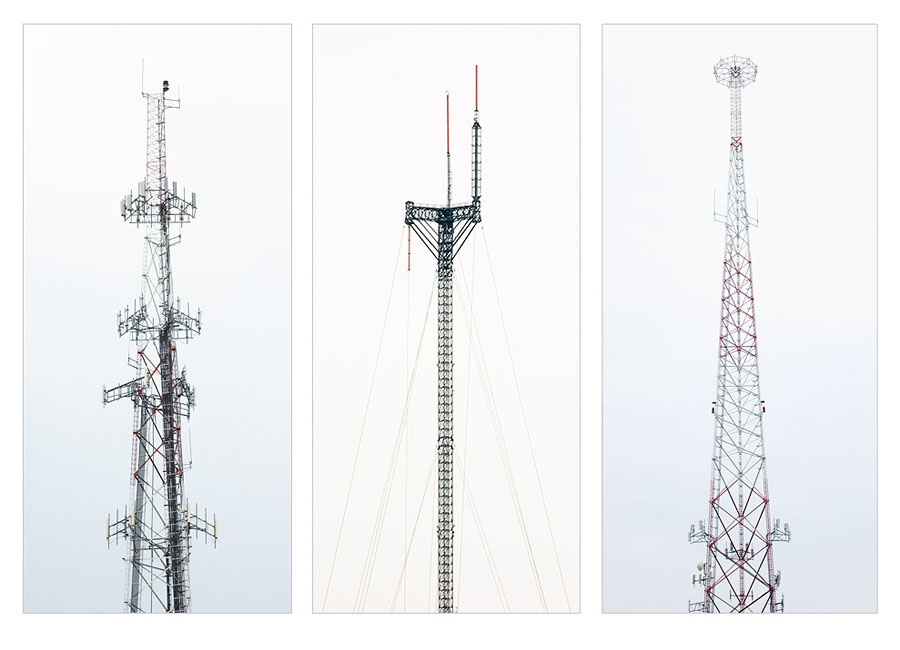 troy bennett communication tower photographs